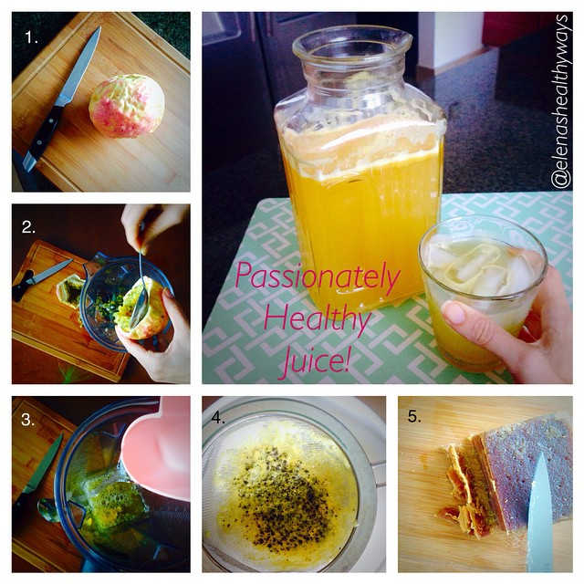 How to Make Passion Fruit Juices